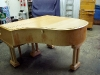 C Mand Coblenz Grand Piano - Before Refinishing